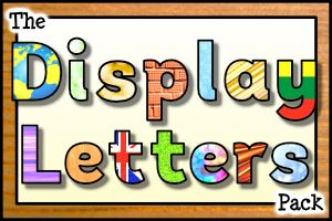 Decorate your classroom walls, displays and bulletin boards using our printable display letters. Each set includes every letter of the alphabet (in upper and lower case), numbers and symbols in a huge range of styles, textures and patterns!