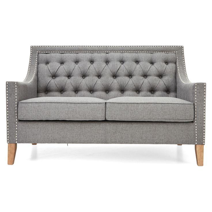 Montpellier 2 Seater Sofa, Grey