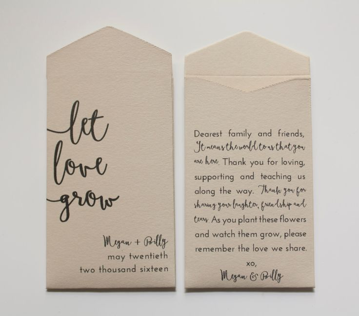 Best 25 Seed Wedding Favors Ideas On Pinterest Favours Seeds For And Your Guests Will Want