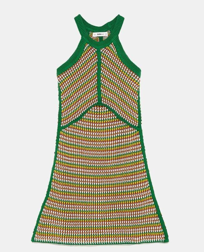 Zara: El vestido de crochet edición limitada de Zara que va
