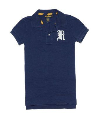 Rugby by Ralph Lauren Women Fashion Polo T-Shirt (XS, Navy) Ralph Lauren. $34.99