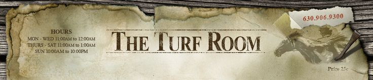 I would call the turf room a culinary experience for sure. The atmosphere, service, and cocktail menu make this such a unique place. You have the option of dining outside on the patio, in the lounge, in the wine bar, or in the track room (where you can actually place a wager on horse races around the world).  I have frequented the turf room for many different occasions like romantic anniversary dinners to girls night out to sunday lunch with the kids. turfroomrestaurant.com…