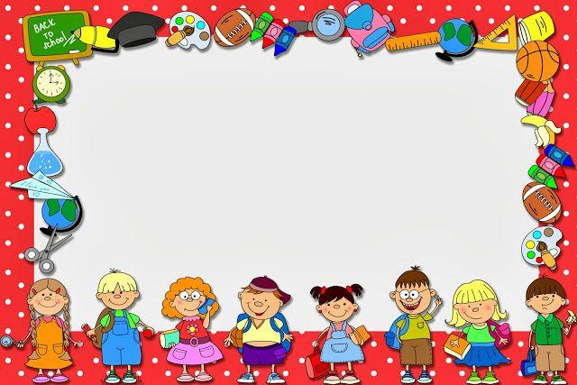 Dia dos Professores - Mini Kit com molduras para convites, rótulos para…