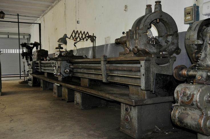 Drehmaschinen Bilder Galerie Meuser Drehbank gebraucht kaufen. Foto Werkzeugmaschinen