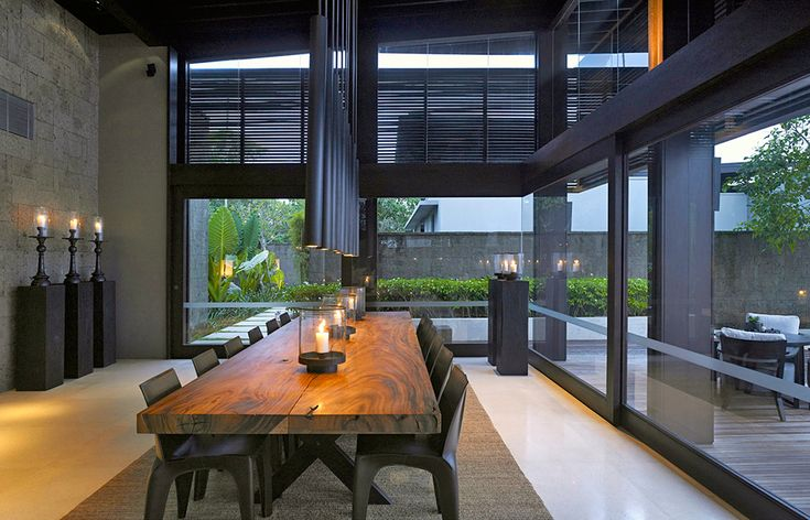 Alila Villas Soori. © Alila Villas Soori These candle holders would be perfect for my dining room table