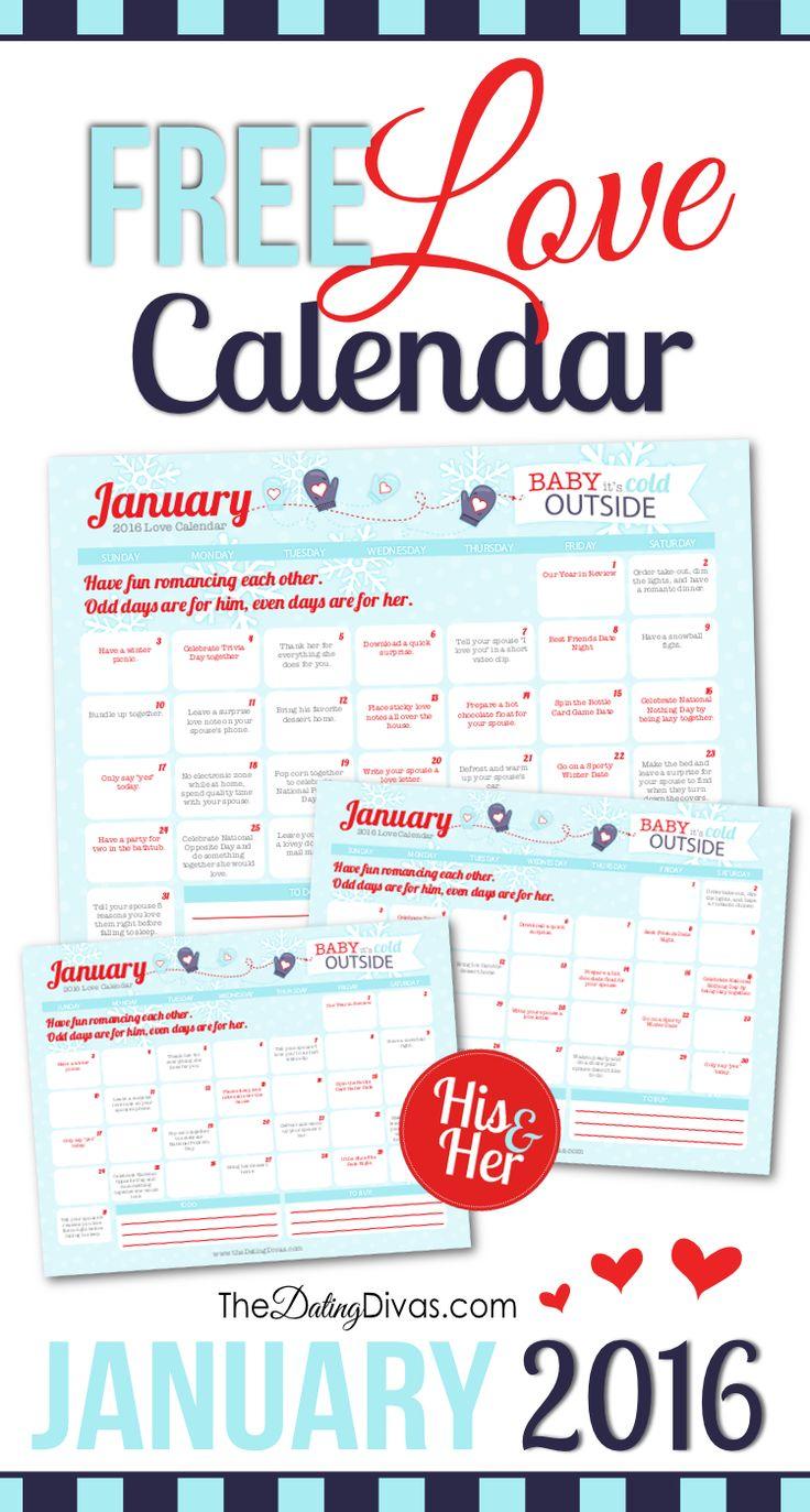 from Hugo dating divas may love calendar