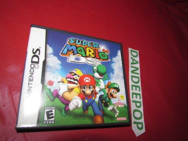 Super Mario 64 Nintendo DS Video Game #SuperMario64 #Mario #Nintendo #DS #VideoGame Find me at dandeepop.com