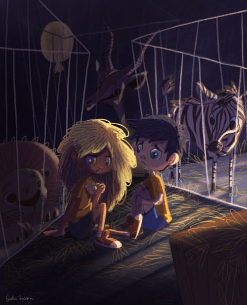 Art By G, Annabeth Chase, Percy Jackson, The Lightning Thief