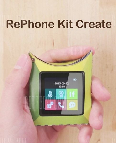 Seeedstudio RePhone DIY Kit  - COLORMIX  with Touch Screen GSM + BLE / Audio Module Open-source Electronics Platform