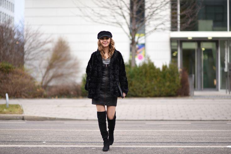 #zara #overknees #blackoverknees #clutch #fashionblog http://fashiontipp.com
