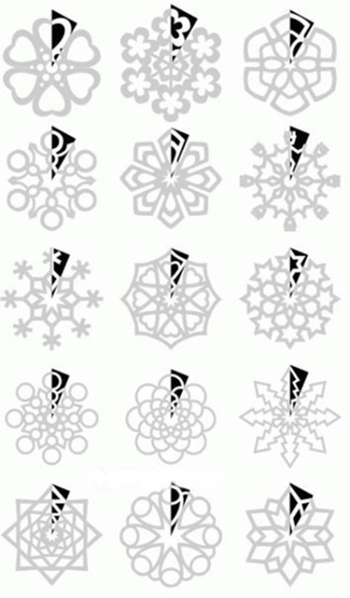 18 best paper snowflakes images on pinterest paper snowflakes