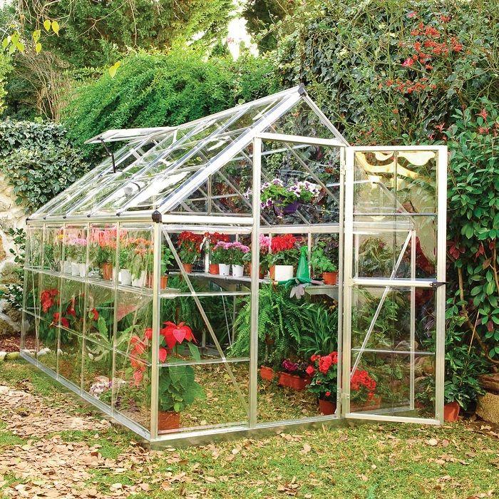 Serre Polycarbonate Harmony Palram 5 6 M Pas Cher Serre De Jardin Auchan Ventes Pas Cher Com En 2020 Plans De Serre Serre Jardin Serre Polycarbonate