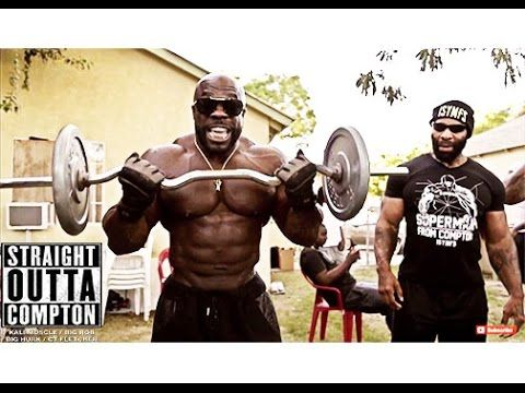 Straight Outta Compton {HOOD WORKOUT}: Kali Muscle + CT Fletcher + Big Rob + Big Hurk - YouTube