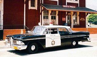 1959 Edsel Police Car.....
