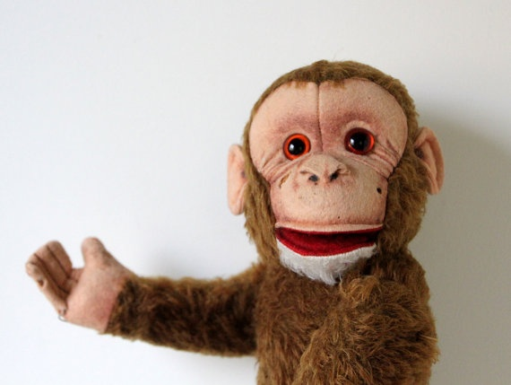 Best Vintage Toys Vending Machines Board Games Images On - Monkey knows how to operate vending machine