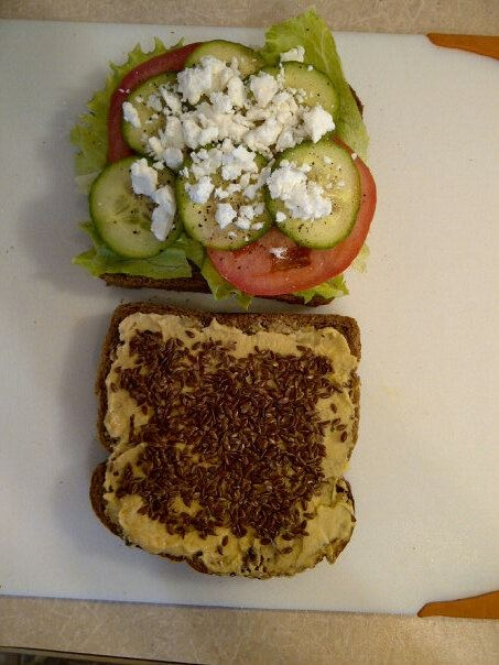 sandwich. Whole Wheat bread (or your best or favorite WHOLE grains ...