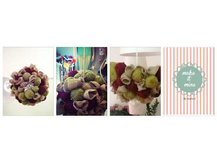 # chandelier#fabric#summerlover#unique#makeitminebymarias#