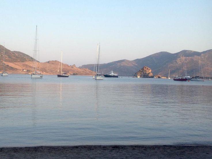 Grikos bay, #Patmos!  #greeksummer