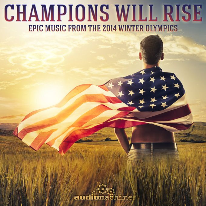 Audiomachine 'Champions Will Rise' EP artwork