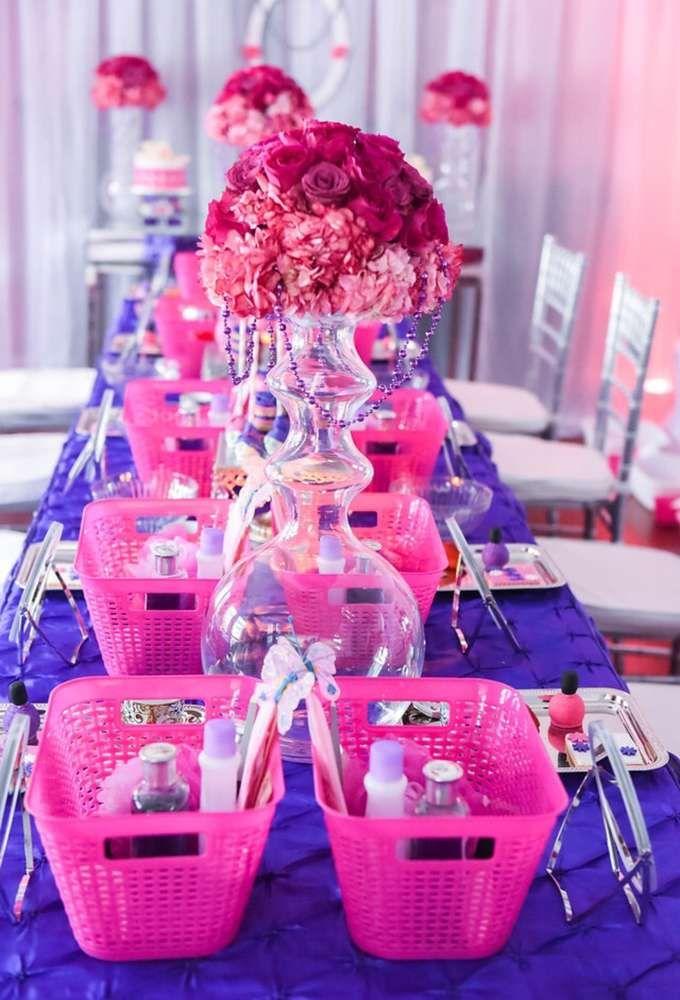 Spa And Tea Birthday Party Ideas
