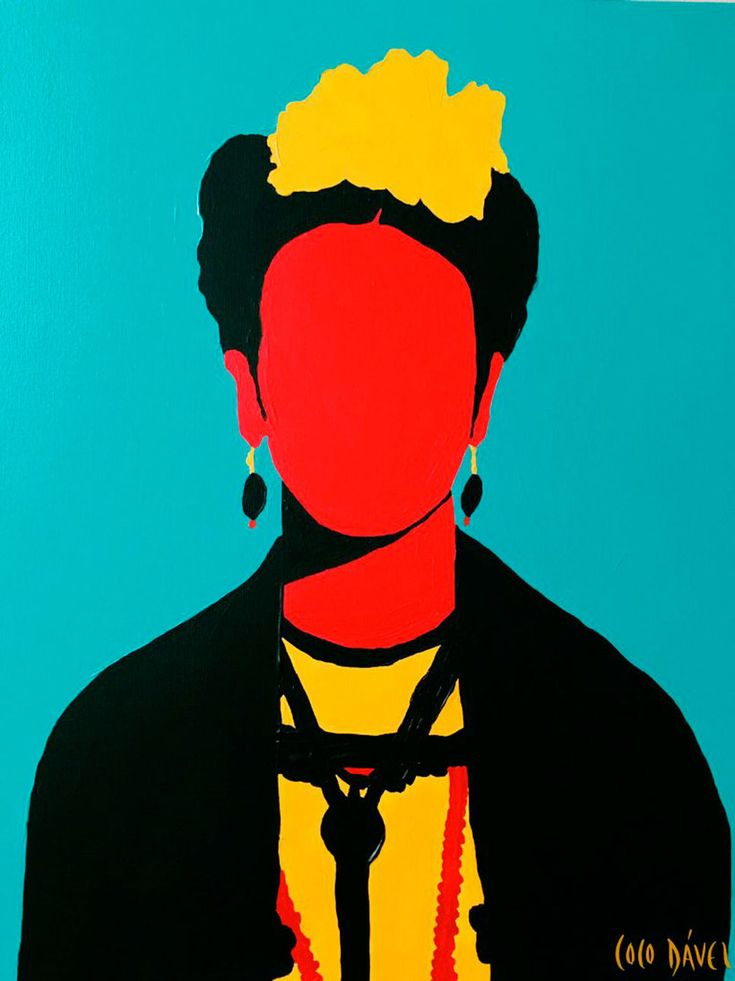 "Frida Kahlo"" new print by Coco Dávez. Silk screen 4 inks on Canson Edition paper. Size: 47 x 35 cm. Series of 35 units signed by the artist. Art And Illustration, Painting Inspiration, Art Inspo, Kahlo Paintings, Frida Art, Posca Art, Mexican Artists, Art World, Art Pictures"