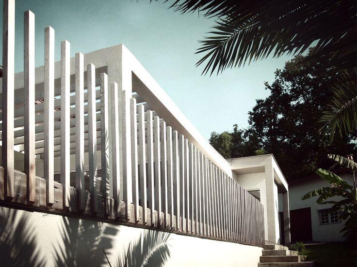 agence d 39 architecture romain th venot r novation et extension d 39 une villa avec piscine. Black Bedroom Furniture Sets. Home Design Ideas