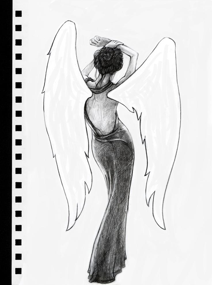 Quick sketch. I wish I had wings.