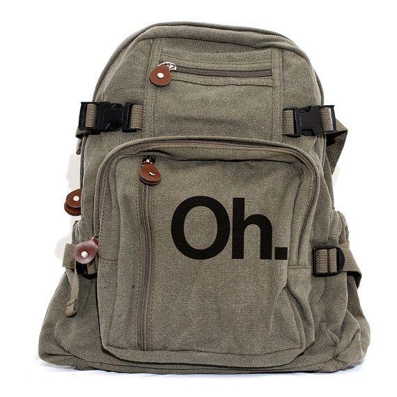Sac à dos Ohio State Monogram sac à dos toile sac à dos OH