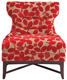 Nicole chair in fabric #5840-91
