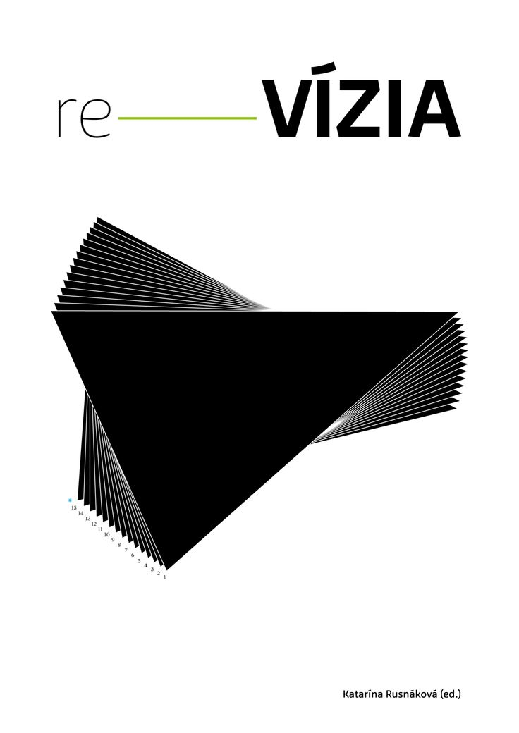 re–VIZIA publication is delicately using Preto Sans bit.ly/preto_sans and Preto Serif bit.ly/preto_serif (for the typesetting for small text). Design by: Katka Czikorova http://www.coffeeandtv.sk