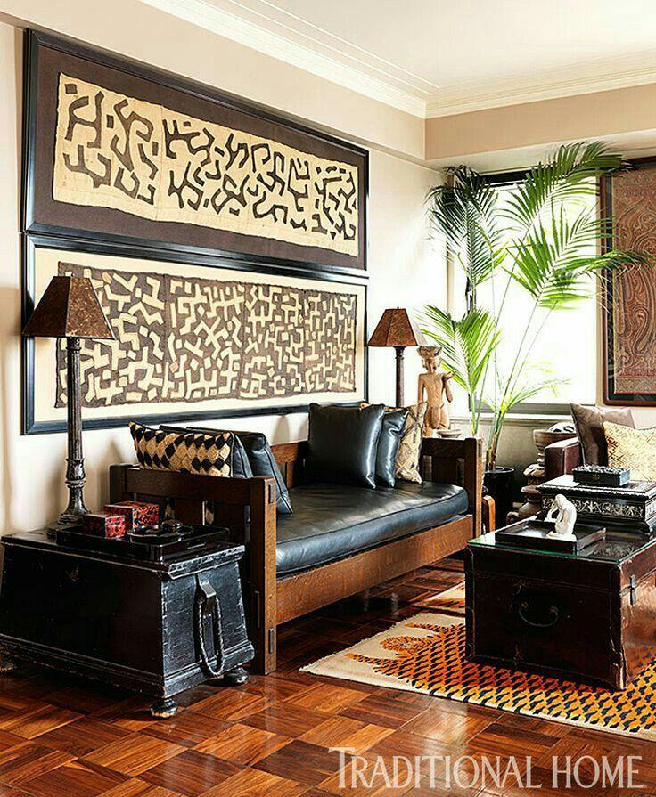 les 75 meilleures images du tableau afrocentric deco sur pinterest africains canap s et. Black Bedroom Furniture Sets. Home Design Ideas