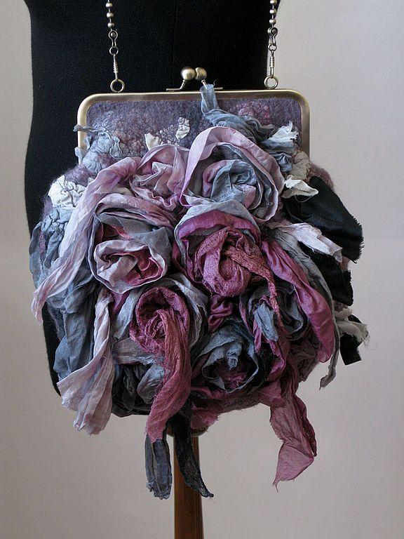"""Купить дамская сумочка """" la Provence ..."""" - эксклюзивный подарок, авторская работа, сумка"""