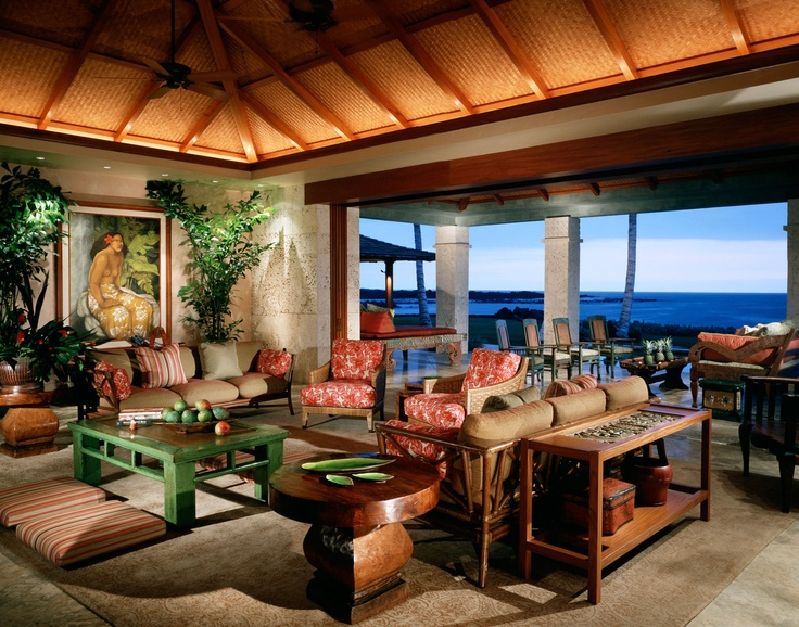 Hawaii Interior Designer: 10 Best Images About Beautiful Hawaiian Architecture On