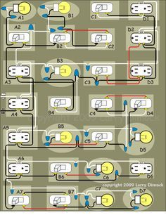 typical home electrical wiring diagram mgf vvc bill embry embrywm on pinterest electrician describes a circuit in detail using basic house