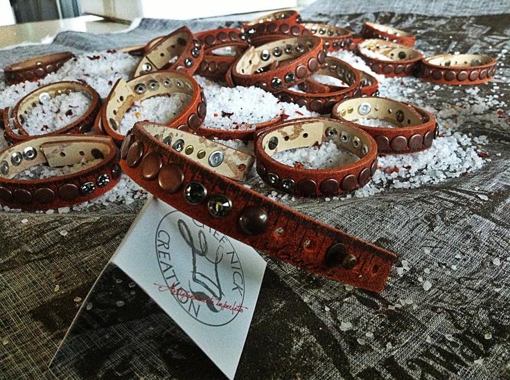 Ginevra Bangle City Collection #chefnick creation #bracelet 100% handmade www.chefnickcreation.com