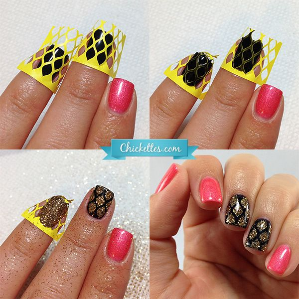 Best 25 fish scale nails ideas on pinterest pretty nails diy fish scales nail shields prinsesfo Images