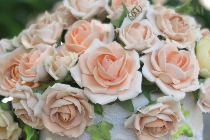 Roses all handmade
