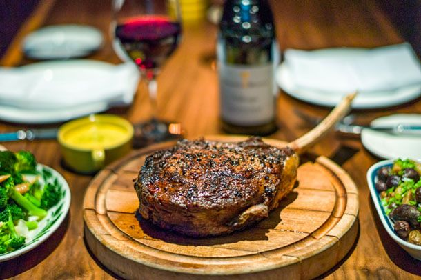 Steakcraft: Watch Alex Guarnaschelli Cook a 40-Ounce Rib Steak at Butter Midtown | Serious Eats : New York