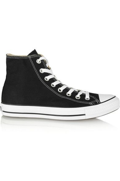 Converse - Chuck Taylor Canvas High-top Sneakers - Black - UK