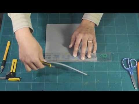 Foamy. Técnica No.1 Corte - YouTube