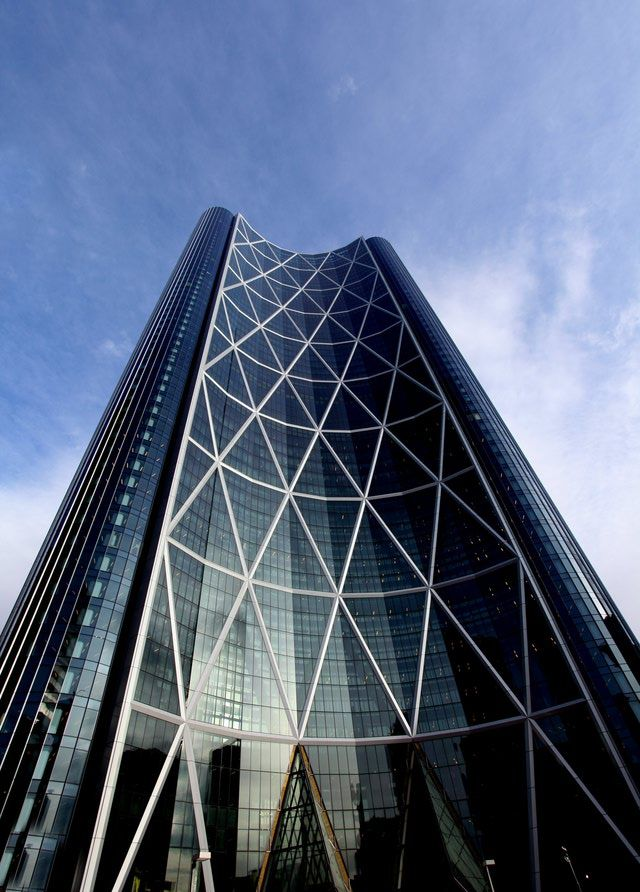 Architecture Photos: Buildings by Sir Norman Foster: The Bow in Calgary, Alberta, Canada