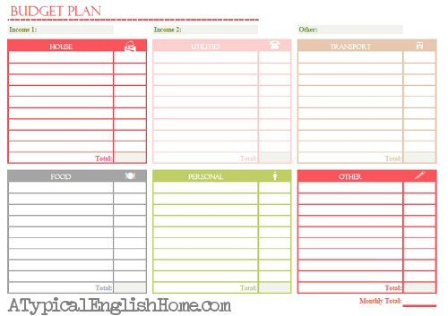34 parasta kuvaa Pinterestissä Home budget  Spending - sign up sheet template excel