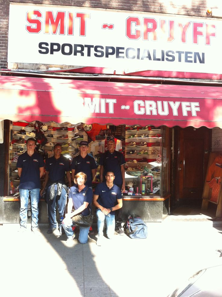 Groepsfoto Cruyff