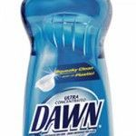 Natural Flea Bath for Dogs and Cats - Get the fleas off with Dawn dish soap.