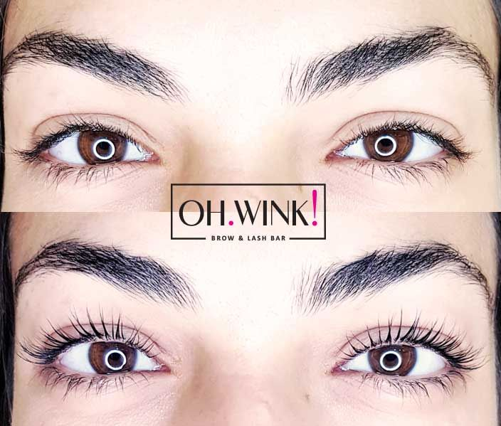 109c3f6f4ec Not Lash Extensions - 100% Natural Lashes Signature Lash Lift by OH.WINK!  Brow & Lash Bar. Book your Appointment Online