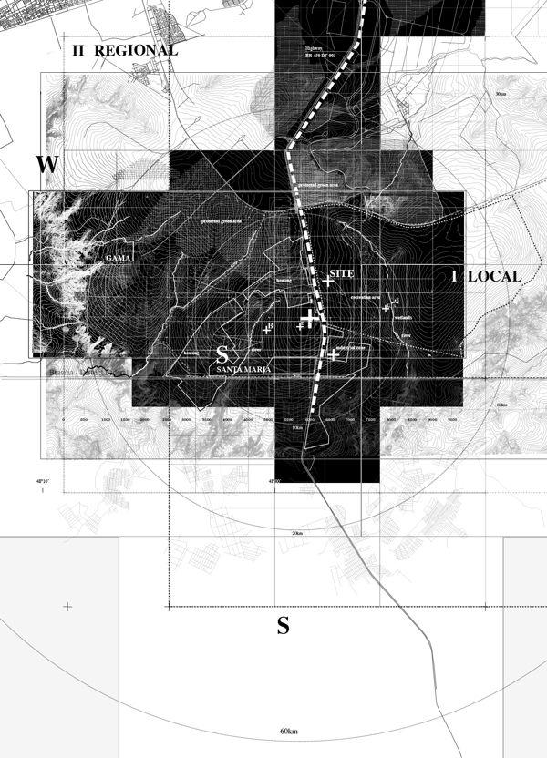Urban satellite by Alexander Daxböck, via Behance