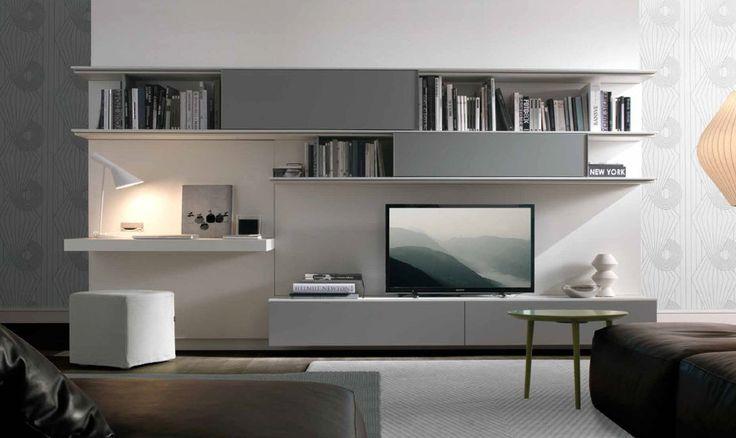 parete attrezzata moderna scrivania - Cerca con Google