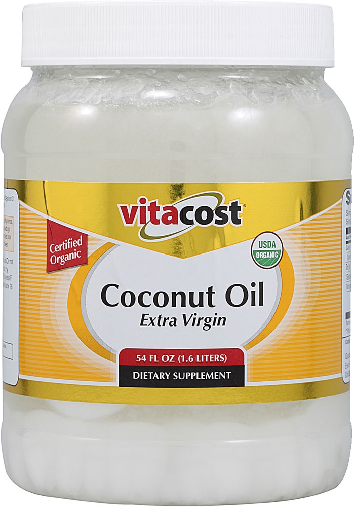 Vitacost Extra Virgin Certified Organic Coconut Oil>How was there life before coconut oil!?!?!?