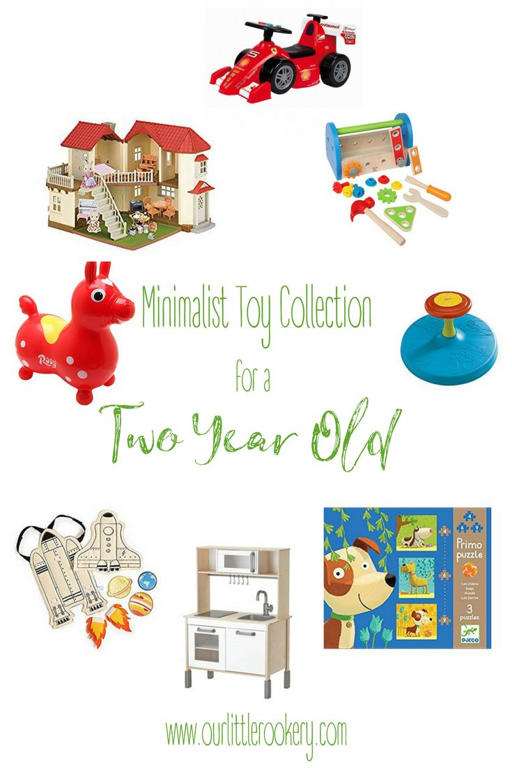 Want to limit your toddler's toys while still promoting development? Here's our recommendation for a #minimalist toy collection for a #twoyearold #toddler.