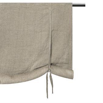 Het prachtiige Sunshine 18de eeuws gordijn in de kleur natuur van het Zweedse merk Himla is gemaakt van pure geweven linnen. Het gordijn heeft een zachte en ontspannen uitstraling. Combineer met de andere textiel producten van Himla en kies uit de verschillende maten.